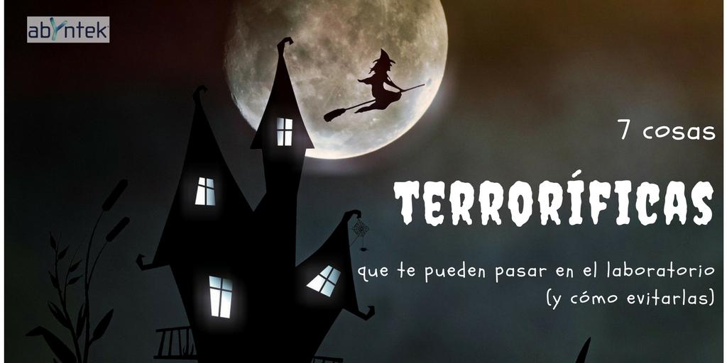 Historias de terror en el Laboratorio (y cómo evitarlas)
