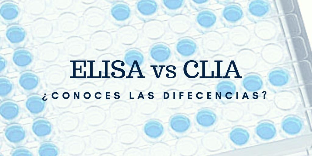 Diferencias entre ensayos ELISA y CLIA