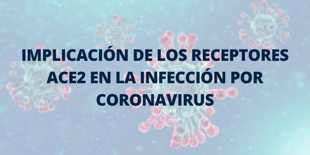 Implicación de los receptores ACE2 en la infección por Coronavirus