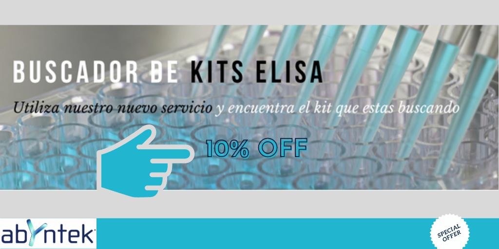 10% de descuento en kits ELISA Abyntek