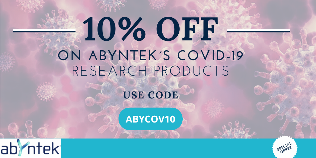 10% off on Covid-19 research products