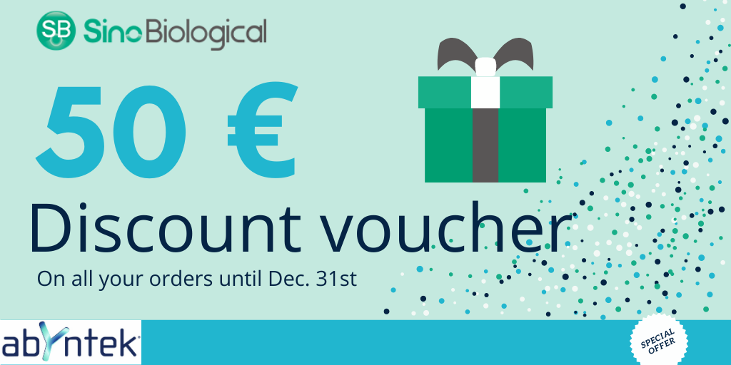 50€ discount voucher SINOBIOLOGICAL