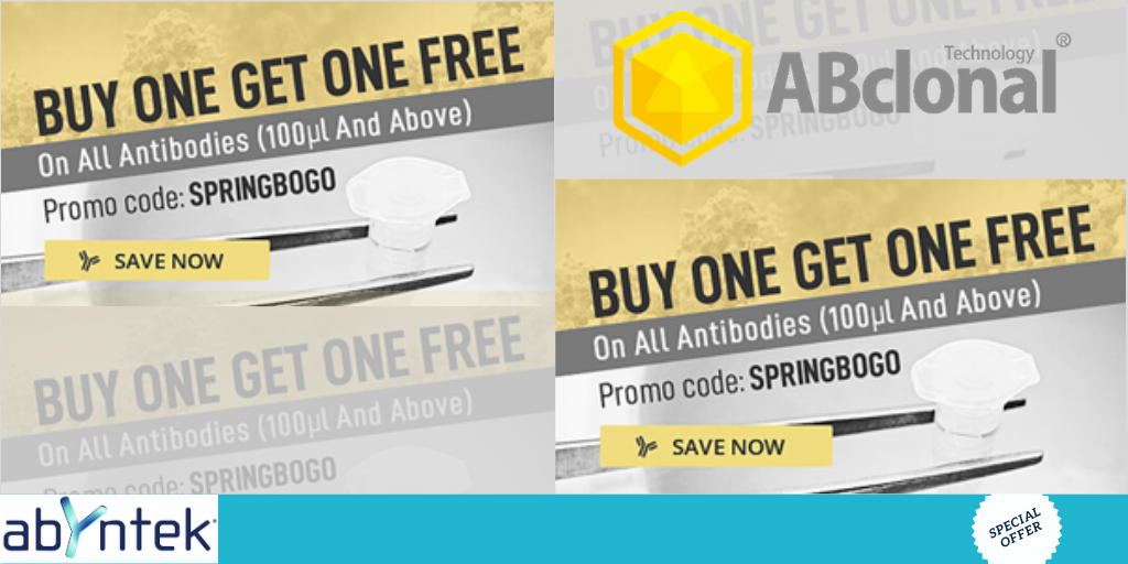 Buy one get one free ABCLONAL