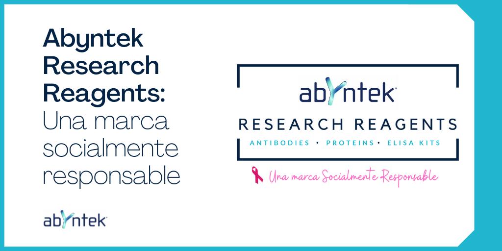 Abyntek Research Reagents, una marca socialmente responsable